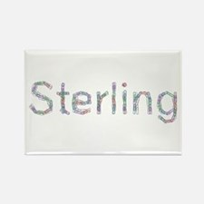Sterling Paper Clips Rectangle Magnet