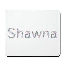 Shawna Paper Clips Mousepad