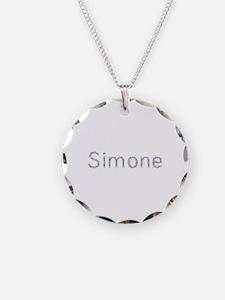 Simone Paper Clips Necklace