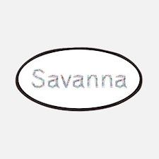Savanna Paper Clips Patch