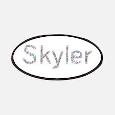 Skyler Paper Clips Patch