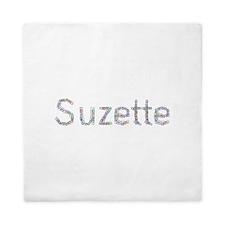 Suzette Paper Clips Queen Duvet