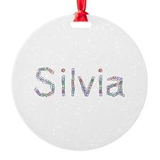 Silvia Paper Clips Ornament