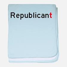 Republicant baby blanket