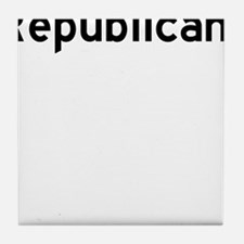 Republicant Tile Coaster