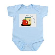 Hebrew Sweet New Year Infant Bodysuit