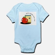 Hebrew Sweet New Year Infant Bodysuit