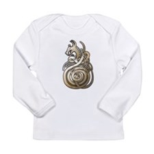 Norse Dragon Long Sleeve Infant T-Shirt