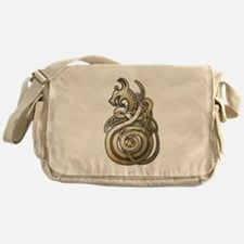 Norse Dragon Messenger Bag