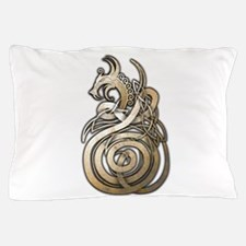 Norse Dragon Pillow Case