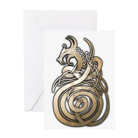 Norse Dragon Greeting Card