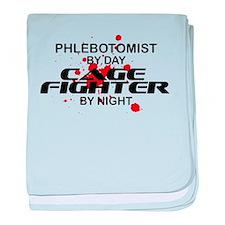 Phlebotomist Cage Fighter baby blanket