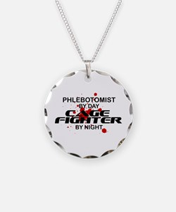 Phlebotomist Cage Fighter Necklace