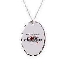 Phlebotomist Cage Fighter Necklace
