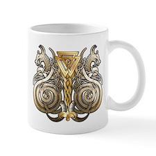 Norse Valknut Dragons Small Mugs