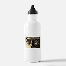 Pug Pair Water Bottle
