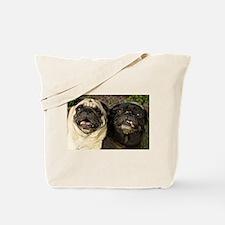 Pug Pair Tote Bag