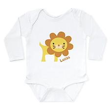 Jungle Lion Long Sleeve Infant Bodysuit