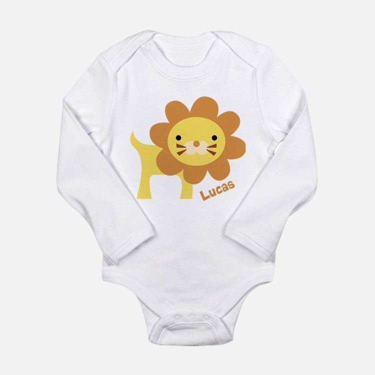 Jungle Lion Long Sleeve Infant Bodysuit