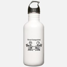 Cloud Computing Water Bottle