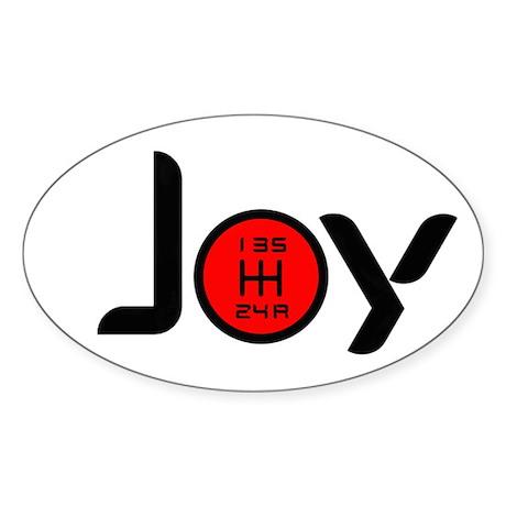 Joy-5sp Black w/Red Sticker (Oval)