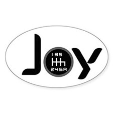 Joy-6sp Black (Clear Pattern) Decal