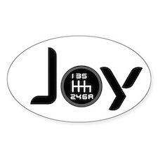 Joy-6sp Black (Clear Pattern) Decal