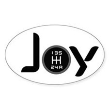 Joy-5sp Black (Clear Pattern) Decal