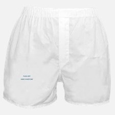 FUCK OFF HAVE A NICE DAY Boxer Shorts