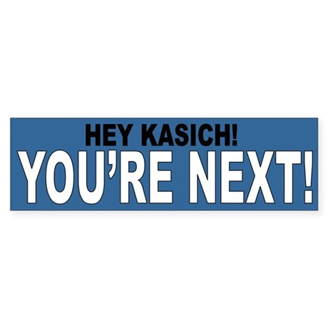 Hey Kasich! Sticker (Bumper)