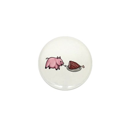 Pig Eats Pig Mini Button (10 pack)