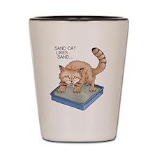 Sand Cat Shot Glass