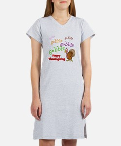 Thanksgiving - Women's Nightshirt