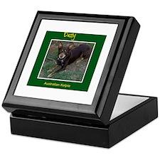 Dusty Australian Kelpie Keepsake Box