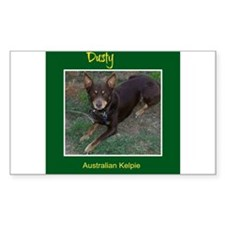 Dusty Australian Kelpie Decal