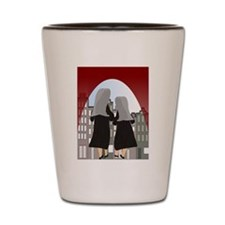 Nun blanket 3 red.PNG Shot Glass