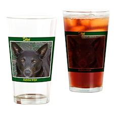 Shai - Australian Kelpie Drinking Glass