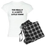 Little town Women's Light Pajamas