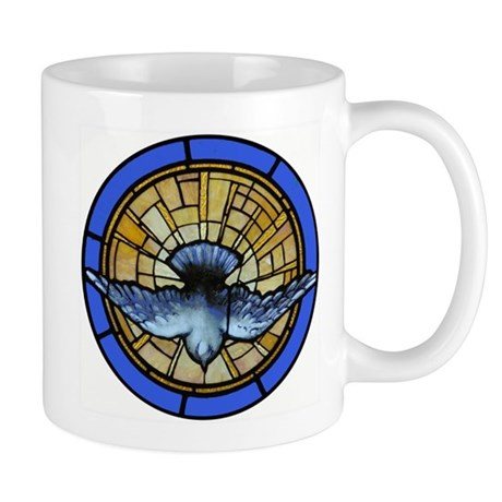 Dove Descent of Holy Spirit Mug