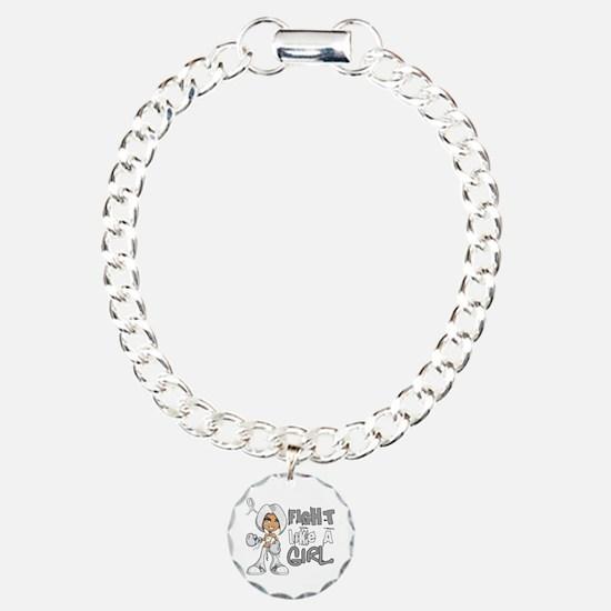 Fight Like a Girl 42.8 Lung Cancer Bracelet