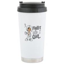 Fight Like a Girl 42.8 Lung Cancer Travel Mug