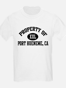 Property of PORT HUENEME Kids T-Shirt