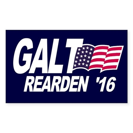 Galt Rearden 2016 Sticker (Rectangle)