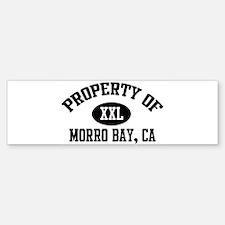 Property of MORRO BAY Bumper Bumper Bumper Sticker