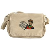 Newspaper delivery Messenger Bags & Laptop Bags