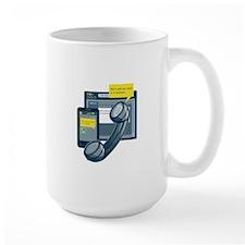 Telephone Smartphone Website Call Back Mug