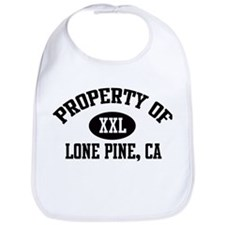 Property of LONE PINE Bib