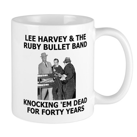 Lee Harvey Oswald Coffee Cup