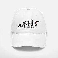 evolution shot putting Baseball Baseball Cap