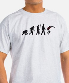 evolution shot putting T-Shirt